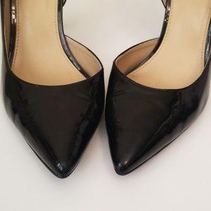 MICHAEL Michael Kors Shoes - Micheal Kors Black Patent Leather Heels / Pumps